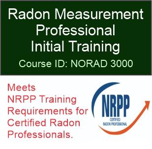 NORAD 3000 – Radon Measurement Professional Initial Training