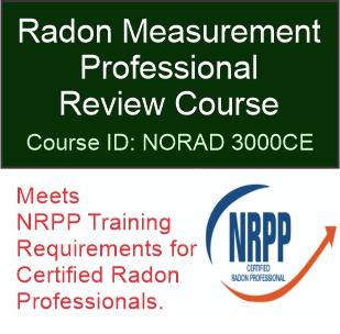 NORAD 3000CE – Radon Measurement Professional Review Course
